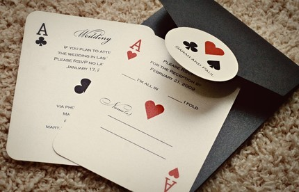 playing cards – Playing Card Invitation